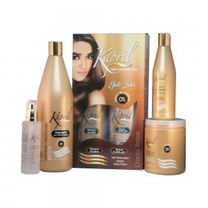 Linea Proteccion Botox 4 pasos (shampoo 33 Oz, Mascarilla 22 Oz. Leave-in10 Oz, Serum 4 Oz)